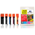 Canon PGI-525/ CLI-526 Jettec Compatible Black & Colour Ink Cartridge 5 Pack