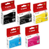 Canon PGI-525 Bk/ CLI-526 BK/C/M/Y Original Black & Colour Ink Cartridge 5 Pack