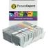 Canon PGI-570BKXL / CLI-571XL BK/C/M/Y/GY Compatible High Capacity Black & Colour Ink Cartridge 6 Pack
