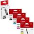 Canon PGI-580/CLI-581 (PGBK/BK/C/M/Y) Original Black & Colour Ink Cartridge 5 Pack