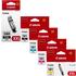 Canon PGI-580/CLI-581 XXL (PGBK/BK/C/M/Y) Original Extra High Capacity Black & Colour Ink Cartridge 5 Pack