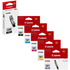 Canon PGI-580/CLI-581 (PGBK/BK/C/M/Y/PB) Original Black & Colour Ink Cartridge 6 Pack