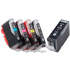 Canon PGI-5BK/ CLI-8 BK/C/M/Y Original Black & Colour Ink Cartridge 5 Pack