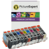 Canon PGI-72 Compatible Black & Colour Ink Cartridge 11 Pack