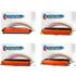 Dell 593-10170, 71,72,73 Bk,C,M,Y Multipack of Compatible Toner Cartridges