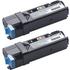 Original Twin Pack Black Dell 593-11035 899WG Toner Cartridge