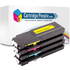 Dell 593-BBBM/N/P/O (BK/C/M/Y) Compatible Toner Cartridge Multipack