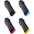 Dell 593-BBS Original High Capacity Black & Colour Toner Cartridge 4 Pack