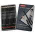 Derwent Graphic Pencils Designer Graphite 6B-4H Ref 34214 [Pack 12]