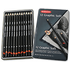 Derwent Graphic Pencils Sketching Graphite 9B-H Ref 34215 [Pack 12]