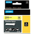 Dymo 1734525 (S0773850) Original Black on Yellow Nylon Labelling Tape 24mm x 3.5m