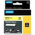 Dymo 1734525 (S0773850) Original Black on Yellow Nylon Labelling Tape 24mm x 3.5m