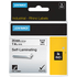 Dymo 1734821 ( S0773860 ) Original Black on White Self Laminating Tape 24mm x 5.5m