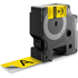 Dymo 1805431 Original Black on Yellow Vinyl Labels 24mm x 5.5m