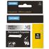 Dymo 1805434 Original Black on Metallic Permanent Polyester Tape 24mm x 5.5m