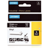 Dymo 1805435 Original White on Black Vinyl Labels 12mm x 5.5m