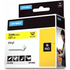Dymo 18432 (S0718450) Original Black on Yellow Vinyl Labels 12mm x 5.5m