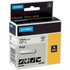 Dymo 18444 ( S0718600 ) Original Black on White Vinyl Labelling Tape 12mm x 5.5m