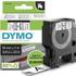 Dymo 45803 ( S0720830 ) Original D1 Black on White Labelling Tape 19mm x 7m