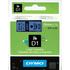Dymo 45806 (S0720860) Original D1 Black on Blue Labelling Tape 19mm x 7m