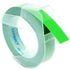 Dymo S0898160 Original White on Green Embossing Tape 9mm x 3m