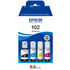 Epson 102 Original Black & Colour Ink Bottle 4 Pack