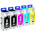 Epson 105 / 106 Original Black & Colour Ink Bottle 5 Pack