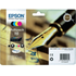 Epson 16 (T1626) Original Black & Colour Ink Cartridge 4 Pack