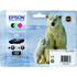 Epson 26 (T2616) Original Black & Colour Ink Cartridge 4 Pack
