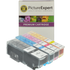 Epson 26XL (T2636) Compatible High Capacity Black & Colour Ink Cartridge 4 Pack
