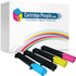 Epson C13S050187/188/189/190 Compatible Black & Colour Toner Cartridge Multipack