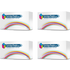 Epson C13S050557, 56,55,54 BK,C,M,Y Compatible Black & Colour Toner Cartridge Multipack