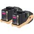 Epson C13S050607 (0603) Original Magenta Toner Cartridge Twinpack