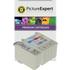 Epson T007 / T008 Compatible Black & Colour Ink Cartridge 2 Pack