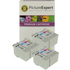 Epson T007/T008 Compatible Black & Colour Ink Cartridge 6 Pack