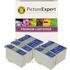 Epson T026 / T027 Compatible Black & Colour Ink Cartridge 5 Pack