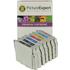 Epson T0331 x 2, T0332, T0333, T0334, T0335, T0336 Compatible Black & Colour Ink Cartridge 7 Pack