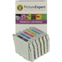 Epson T033 (T0331/2/3/4/5/6) Compatible Black & Colour Ink Cartridge 6 Pack