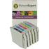 Epson T033 (T0331/2/3/4/5/6) Compatible Black & Colour Ink Cartridge 6 Pack