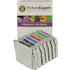 Epson T0331 x 2, T0332, T0333, T0334, T0335, T0336 Compatible Black & Colour Ink Cartridge 7 Pack