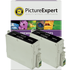 Epson T0431 Compatible High Capacity Black Ink Cartridge TWINPACK