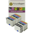 Epson T0445 Compatible Black & Colour Ink Cartridge 14 Pack