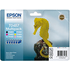 Epson T0487 Original Black & Colour Ink Cartridge 6 Pack