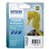 Epson T048B Original 3-Colour (Y/PC/PM) Ink Cartridge Pack