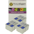 Epson T0511 / T0520 Compatible Black & Colour Ink Cartridge 6 Pack