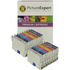 Epson T054 (T0540,1,2,3,4,7,8,9) Compatible Black & Colour Ink Cartridge 16 Pack