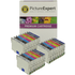 Epson T054 (T0540,1,2,3,4,7,8,9) Compatible Black & Colour Ink Cartridge 24 Pack