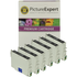 Epson T0551 Compatible Black Ink Cartridges x6