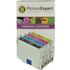 Epson T0556 Compatible Black & Colour Ink Cartridge 4 Pack
