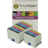 Epson T0556 Compatible Black & Colour Ink Cartridge 12 Pack